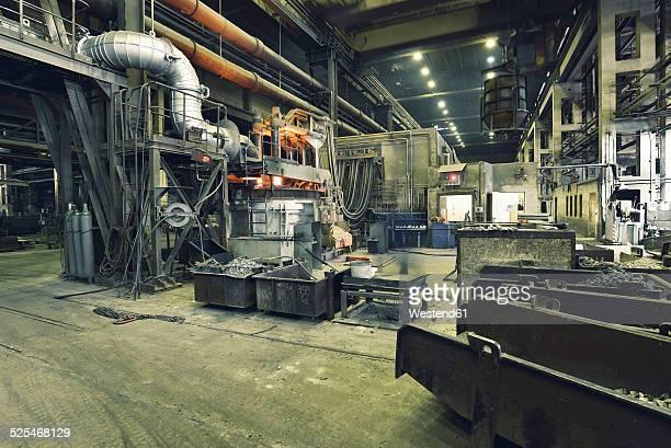 Blast furnace in a foundry