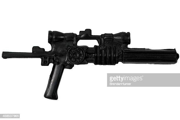 blaster rifle - detonator stock photos and pictures