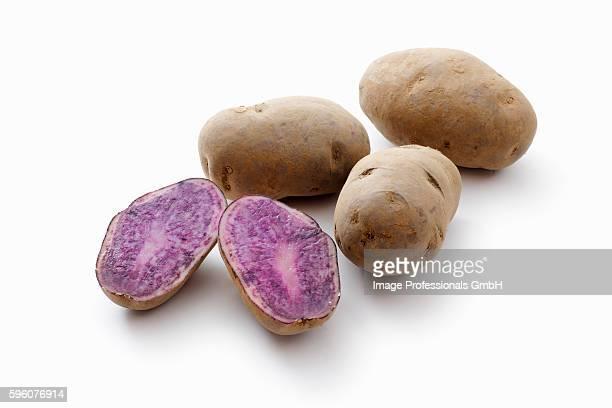 Blauer Schwede potatoes