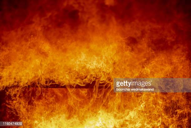 blaze fire flame texture background - hell stock pictures, royalty-free photos & images