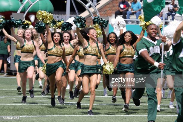 Blazers Golden Girls at the game between the UAB Blazers and the Alabama AM Bulldogs UAB defeated Alabama AM by the score of 387 at Legion Field in...