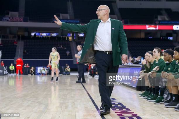 Blazers head coach Randy Norton during the Conference USA Women's Basketball Championship game between the Western Kentucky Lady Toppers and UAB...
