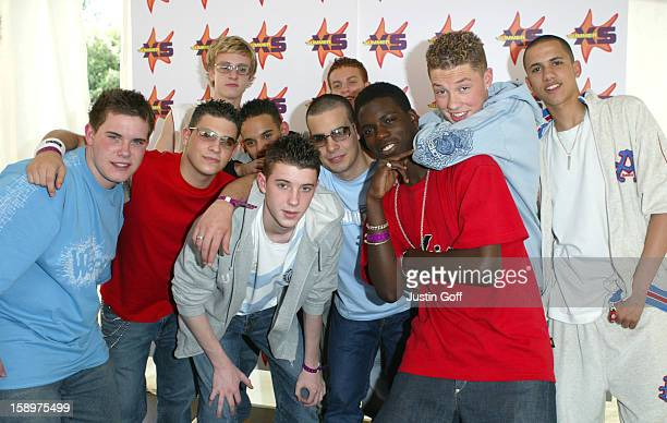 Blazin' Squad Perform At The Summer Xs Concert In Milton Keynes