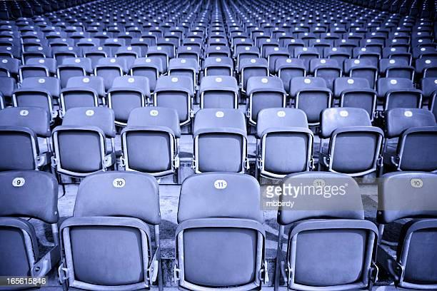 Bleachers on sport stadium