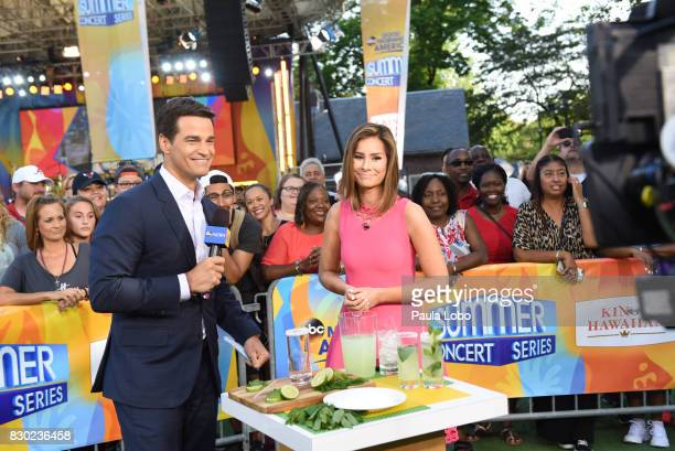 AMERICA Bleachers perform live as part of the GMA Summer Concert Series on Good Morning America Friday August 11 airing on the Walt Disney Television...