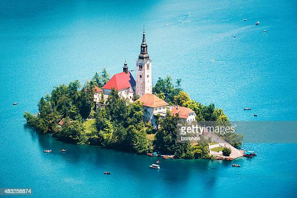 Bled Island In Summer