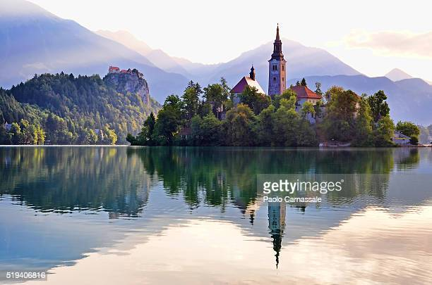 Bled Island with St Mary church