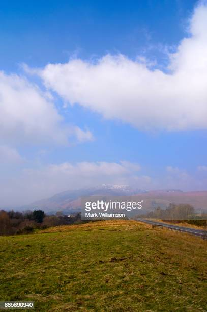blencathra in the lake district. - blencathra stock photos and pictures