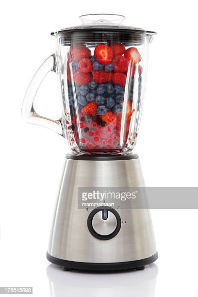 Blender filled with Berries