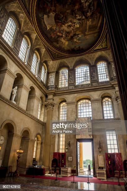 blenheim palace great hall - グレートホール ストックフォトと画像