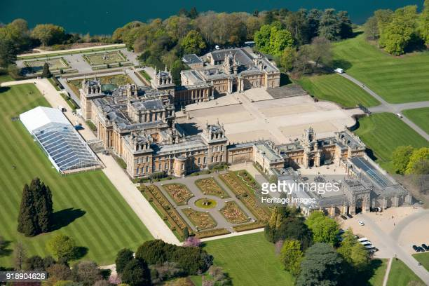 Blenheim Palace, Oxfordshire, 2016. Blenheim Palace was built in the 18th century for John Churchill, 1st Duke of Marlborough, as a reward for his...