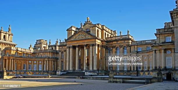 Blenheim Palace, Oxfordshire, England, is the principal residence of the Dukes of Marlborough, and the only non-royal, non-episcopal country house in...