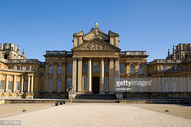 blenheim palace, oxfordshire, england - blenheim palace stock pictures, royalty-free photos & images