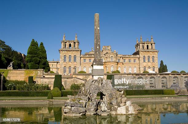 blenheim palace, oxfordshire, england - oxfordshire stock pictures, royalty-free photos & images