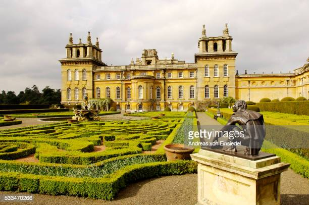 blenheim palace, oxfordshire, uk - blenheim palace stock pictures, royalty-free photos & images