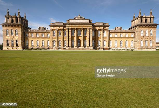 blenheim palace - blenheim palace stock pictures, royalty-free photos & images