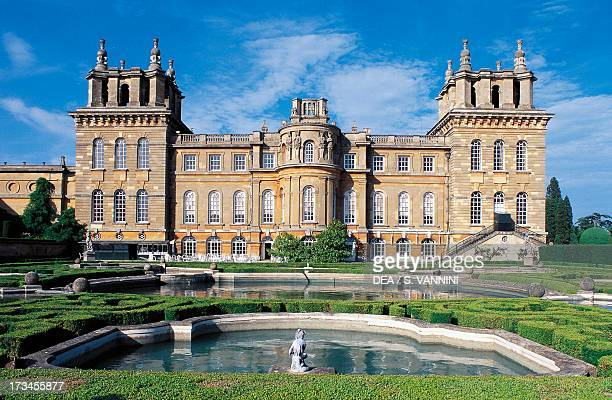 Blenheim Palace , Woodstock, England, United Kingdom.