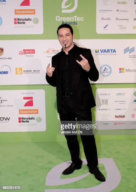 Bülent Ceylanl auf den GreenTec Awards 2015 im Velodrom Berlin am