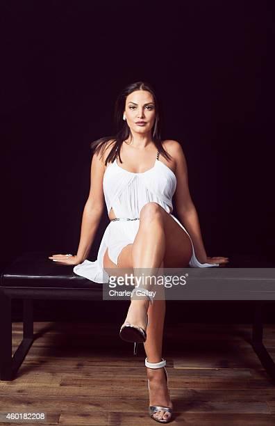 Bleona is photographed at the IHeart Radio Fiesta Latina for Billboard Magazine on November 23 2014 in Las Vegas Nevada