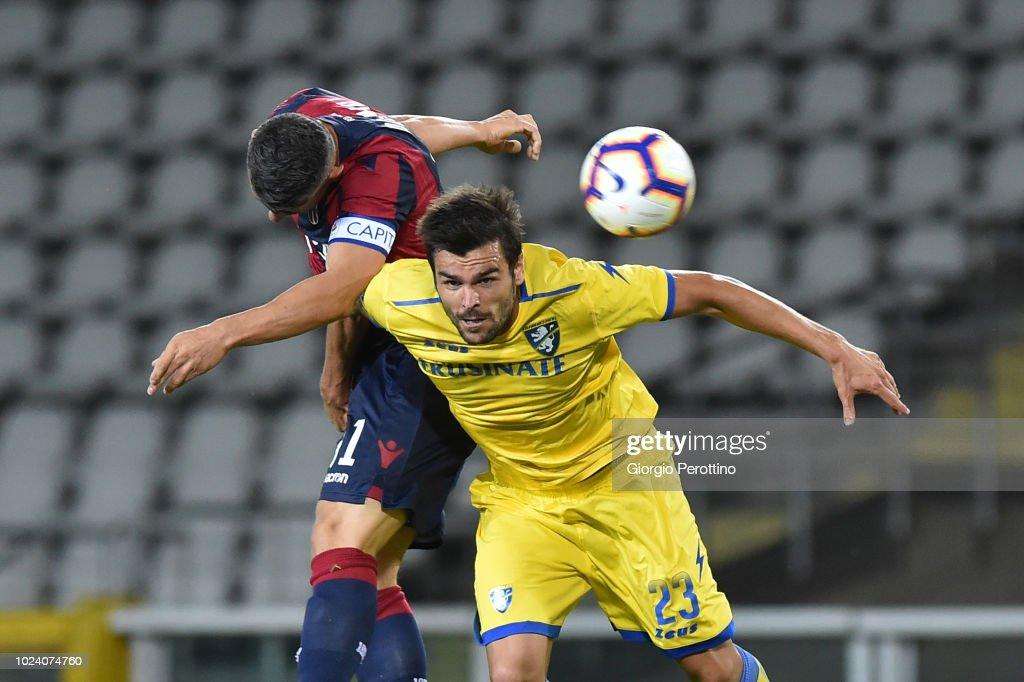 Frosinone Calcio v Bologna FC - Serie A : News Photo