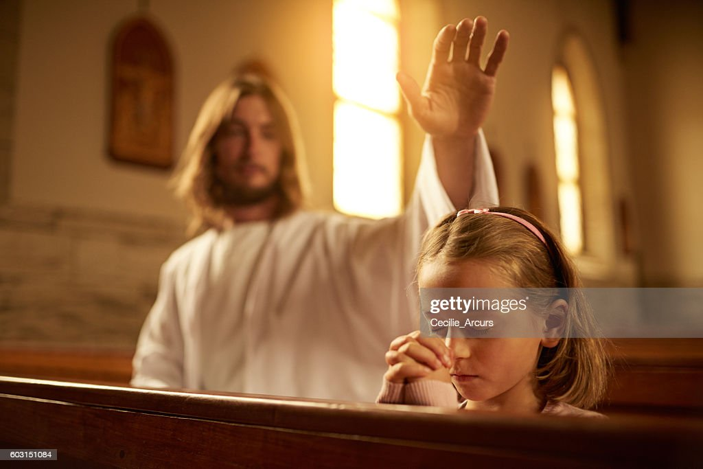 Blessed are the meek : Stock Photo