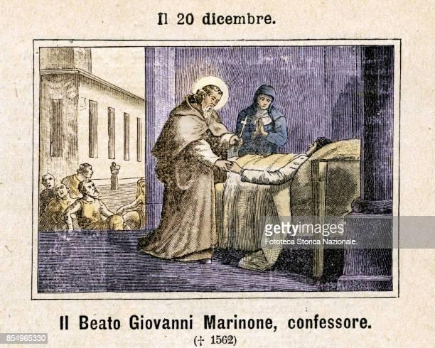 Blessed John Marinone alias Francesco Marinoni was an Italian priest a member of the order of the Clerics Regular Theatine Commemoration on December...