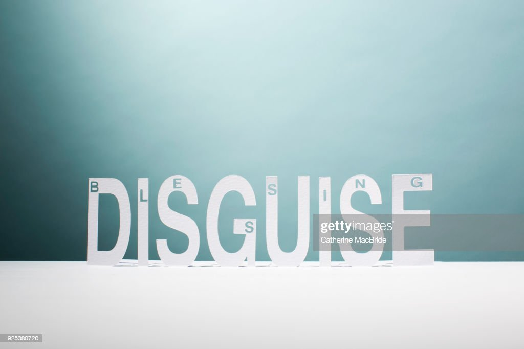 Blessing in Disguise (landscape format) : Stock Photo