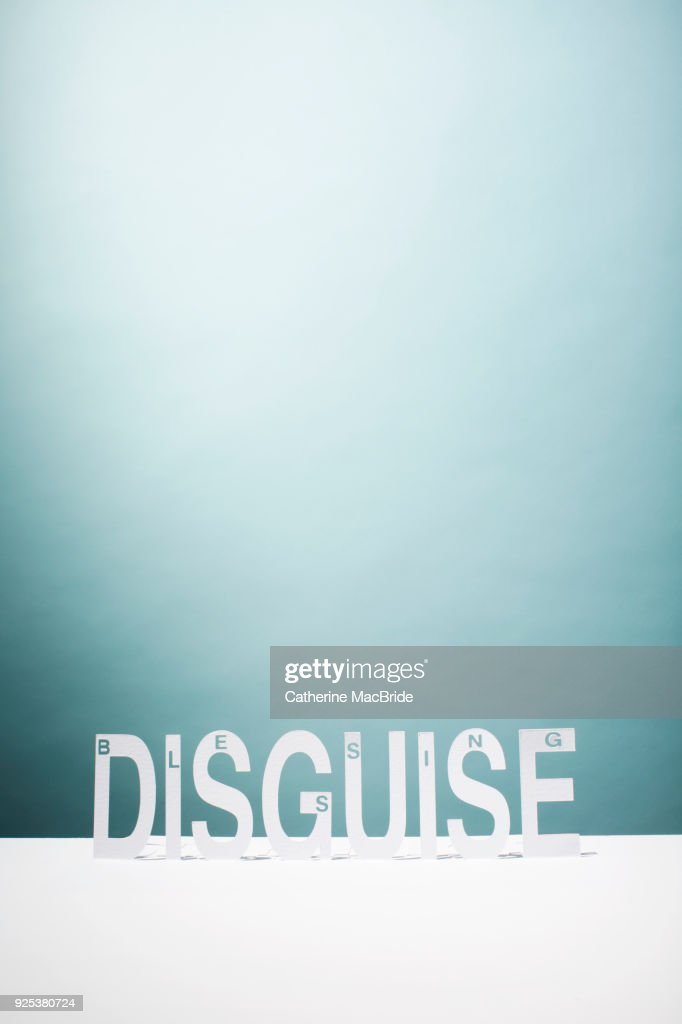 Blessing in Disguise, (vertical format) : Stock Photo