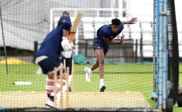 GBR: Northamptonshire County Cricket Club Training Session