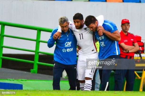 Blessure Nabil FEKIR Portugal / France Match Amical Photo Dave Winter / Icon Sport