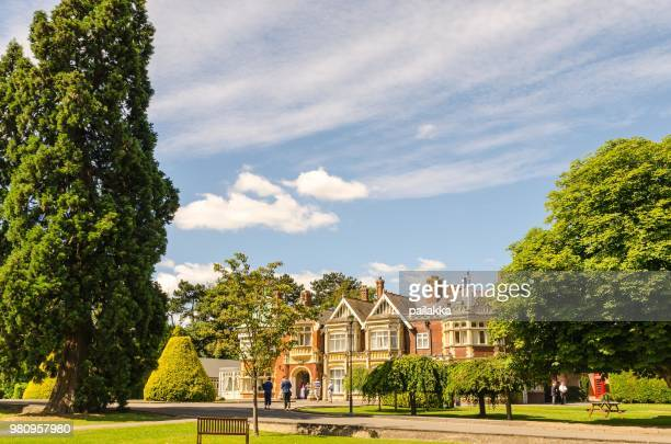 bletchley park - bletchley park stock pictures, royalty-free photos & images