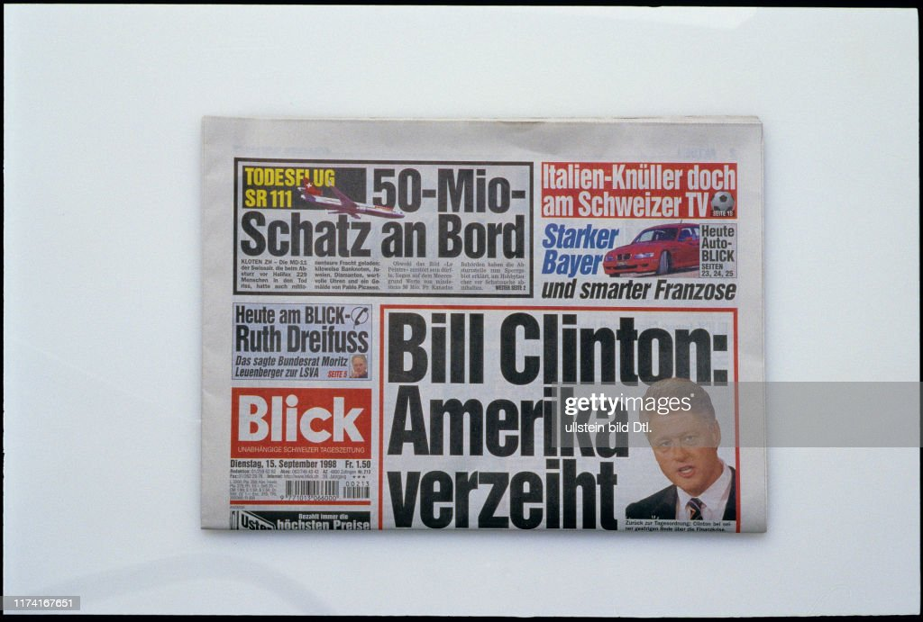 Blick 1998 News Photo Getty Images
