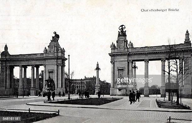 Blick auf das Charlottenburger Tor 1905 1908 von Bernhard Schaede errichtet Aufnahme ohne Jahr