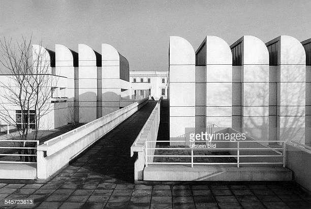 Blick auf das Gebäude an dervanderHeydtStrasse 1979