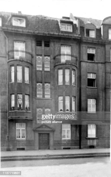 Blick auf das Haus in der Mettmannerstraße in dem Peter Kürten mit seiner Ehefrau wohnte Am 22 April 1931 wurde Peter Kürten wegen Mordes in neun...