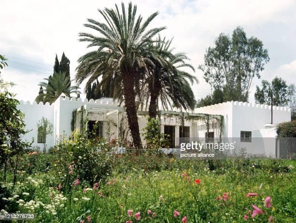 Blick auf das Landhaus in Marrakesch von Arndt von Bohlen und Halbach, dem Sohn von Alfried Krupp von Bohlen und Halbach und letztem Vertreter der...