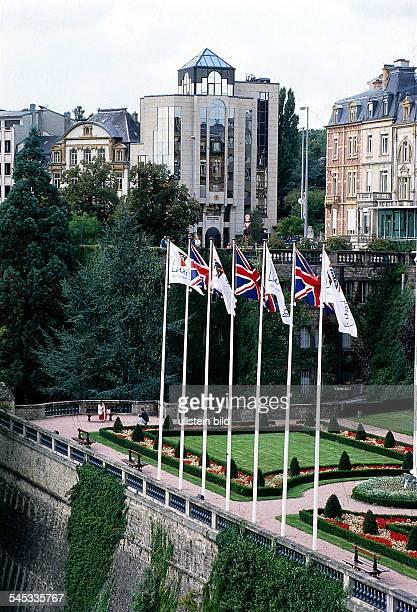 Blick auf den Boulevard Royal 1995