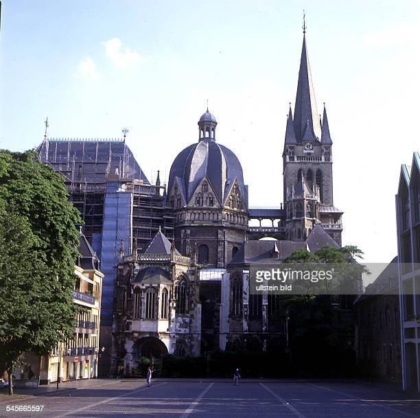 Blick auf den Dom Aussenansicht 1997col