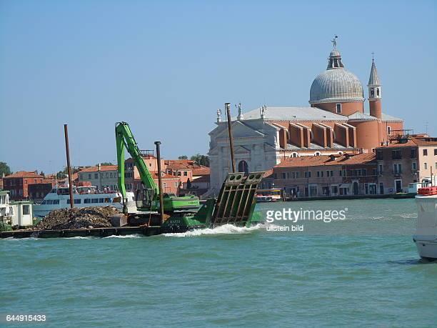 Blick auf die Kirche Il Redentore aufgenommen am 18 Mai 2015 in Venedig
