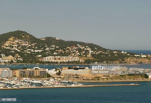 Blick auf Ibiza-Stadt mit Hafen, Insel Ibiza, bei Ibiza-Stadt, Balearen, Spanien, Europa, Reise, AS, DIG; P.-Nr.: 663/2010, ;