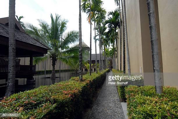 Blick auf Künstlich angelegter See Garten 5SterneLuxushotel Four Seasons Resort Insel Langkawi Malaysia Asien Hotel Reise NB DIG PNr 1836/2011