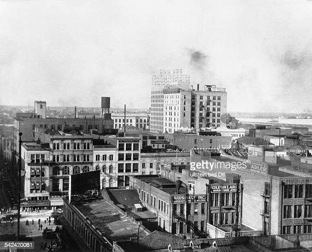 Blick auf New Orleans 1930