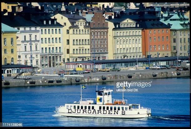 Blick auf Stockholm 1985