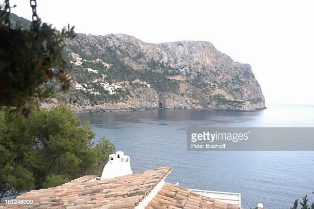 """Blick aus der Ferienwohnung """"Heinolore"""" von H e i n o und Hannelore Kramm, Appartment-Komplex, Cala Llamp/Mallorca/Balearen/Spanien, , Mittelmeer,..."""