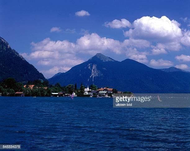 Blick über den Walchensee 1997see seen