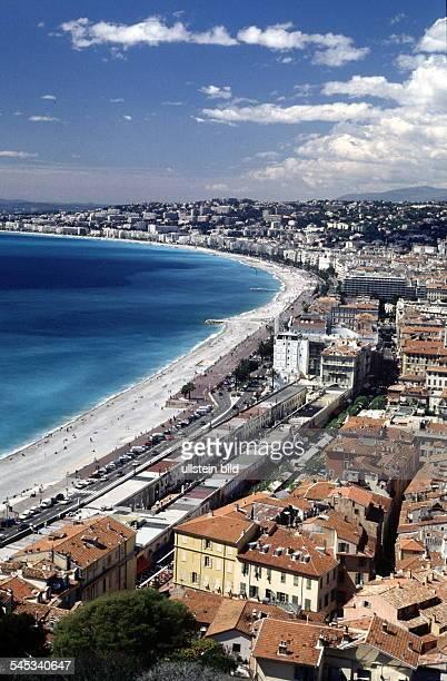 Blick über Strand Bucht und Teileder Stadt Mai 1999