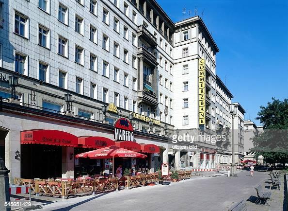berlin karl marx allee frankfurt pictures getty images. Black Bedroom Furniture Sets. Home Design Ideas