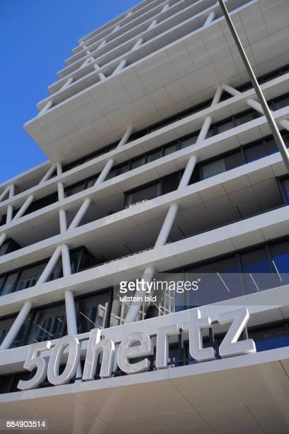Blick in die Heidestrasse wo das EuropacityQuartier waechst Neues Hochhaus 50hertz in der Heidestrasse 2