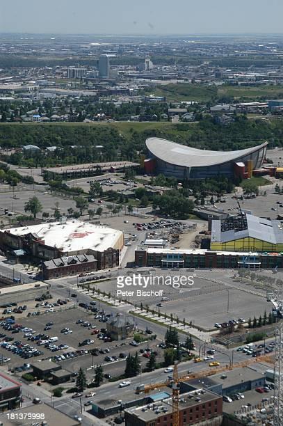 """Blick vom """"Calgary Tower"""" auf die Stadt, Calgary, Alberta, Kanada, Nordamerika, Häuser, Gebäude, Reise,"""
