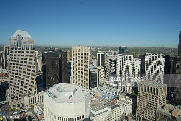 "Blick vom ""Calgary Tower"" auf die Stadt, Calgary, Alberta, Kanada, Nordamerika, Häuser, Gebäude, Reise, BB, DIG; P.-Nr. 1379/2007, ;"